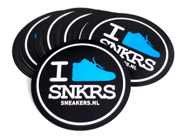 Reclame stickers